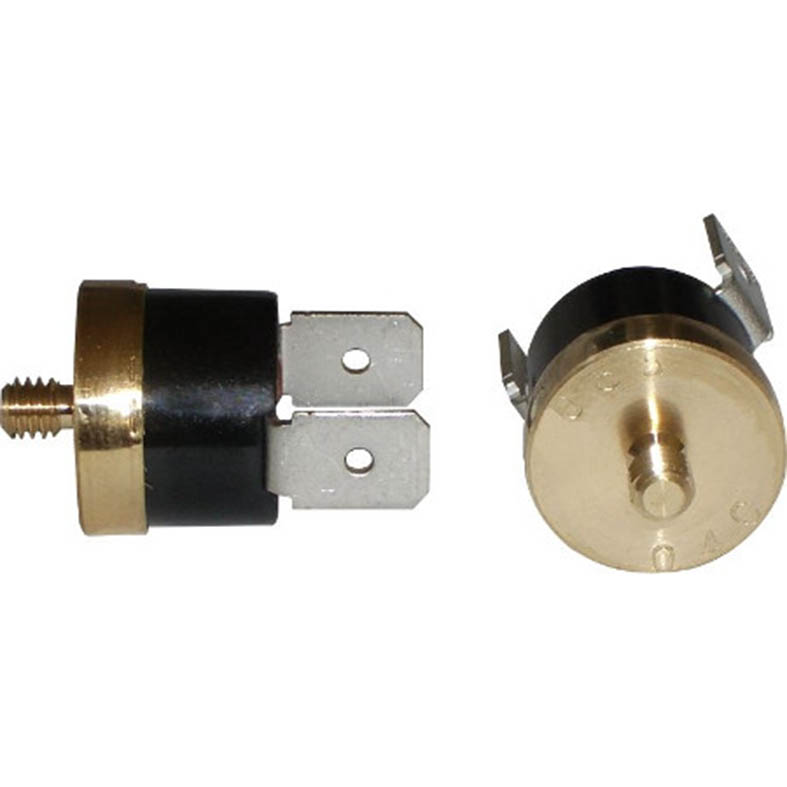 KSD bimetal thermostat with round copper cap