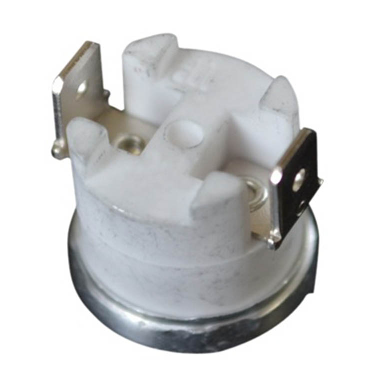 KSD1 bimetal thermostat 10A 16A with bakelite or ceramic base